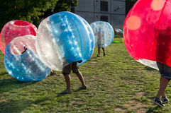 Bubble Football Royalty Free Stock Photos