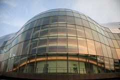 Bubble Front. The glass fronted Sage Music Centre on the Quayside at Gateshead, Tyne & Wear Royalty Free Stock Images