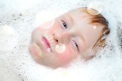 Bubble fun Stock Image