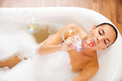 Bubble fun. Stock Photography