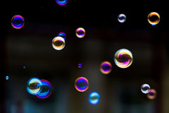 Bubble Game: Atoms of Spring Stock Images