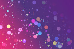 Bubble in gradient Royalty Free Stock Images