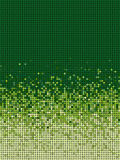 Bubble gradient pattern in green and yellow Stock Image