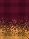 Bubble gradient pattern in orange and burgundy Stock Photography