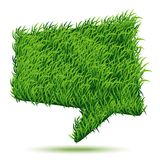 Bubble Green Grass Texture. Vector illustration for your design Royalty Free Stock Images