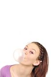 Bubble-gum Images libres de droits