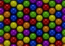 Bubble-gum colorés Images libres de droits