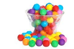 Bubble-gum dans une cuvette Photos stock