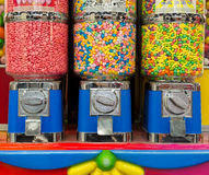 Bubble gum machine. Photo of a Bubble gum machine royalty free stock photo