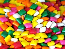 Bubble gum squares Royalty Free Stock Photos