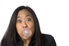 Bubble gum surprise Royalty Free Stock Image