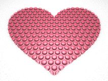 Bubble Heart Royalty Free Stock Images
