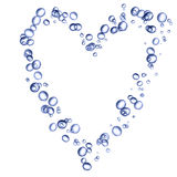 Bubble heart Royalty Free Stock Image