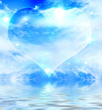 Bubble heart Royalty Free Stock Image