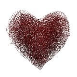 Bubble heart Stock Images