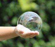 Bubble. I really love watching bubbles float in the air Royalty Free Stock Photography
