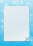 Bubble invitation frame Stock Photo