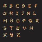 Bubble Letters Stock Photo