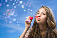 Bubble life. Stock Image