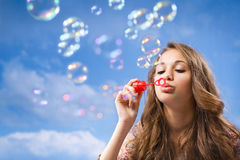 Bubble life. Royalty Free Stock Images