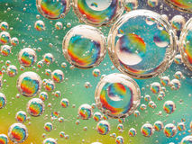 Bubble macro Royalty Free Stock Photography