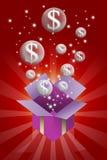 Bubble money concept Stock Photography
