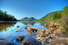 Bubble Mountain Acadia Royalty Free Stock Images