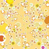 Bubble multi. A abstract multi colour background to reflect bubbles stock illustration