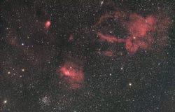 Bubble Nebula Surroundings stock photo