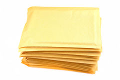 Bubble Packing Envelopes Stock Photos