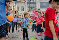 The Bubble Parade 2015 Royalty Free Stock Photo