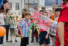 The Bubble Parade 2015 Royalty Free Stock Photography