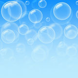 Bubble pattern Royalty Free Stock Photos