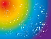 Bubble rainbow Royalty Free Stock Image
