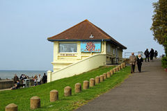 The bubble seaside cafe Royalty Free Stock Photography