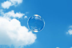 Bubble at the sky Royalty Free Stock Image
