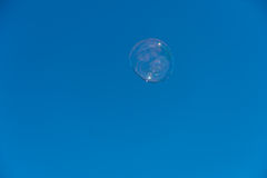 Bubble in the sky Royalty Free Stock Photos