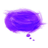 Bubble speech background Royalty Free Stock Photography