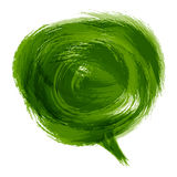 Bubble speech background Stock Images