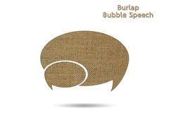 Bubble speech Royalty Free Stock Photography