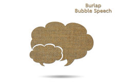 Bubble speech Stock Photography