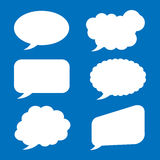 Bubble speech icon great for any use. Vector EPS10. Stock Images