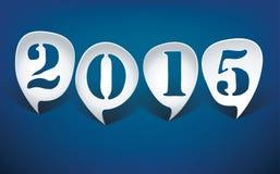 Bubble speech 2015 Royalty Free Stock Photos