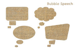 Bubble speech Royalty Free Stock Image