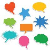 Bubble speech Stock Photos