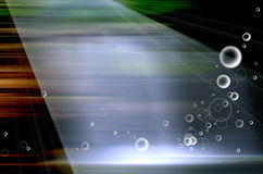 Bubble speed background motion blur Stock Image