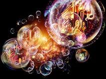 Unfolding of Music Stock Photos