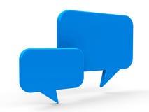 Bubble talk Royalty Free Stock Photos
