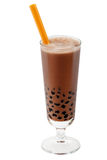 Bubble tea brown Royalty Free Stock Image