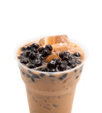 Bubble tea brown Stock Photos